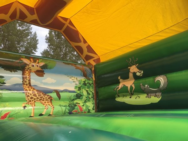 springkasteel giraffe verkoop Jump Factory