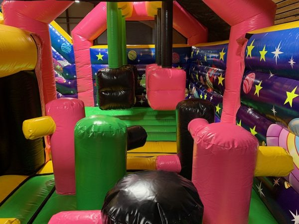 Jump Factory Inflatable Parks: Indoor Inflatable Park - Obstacles