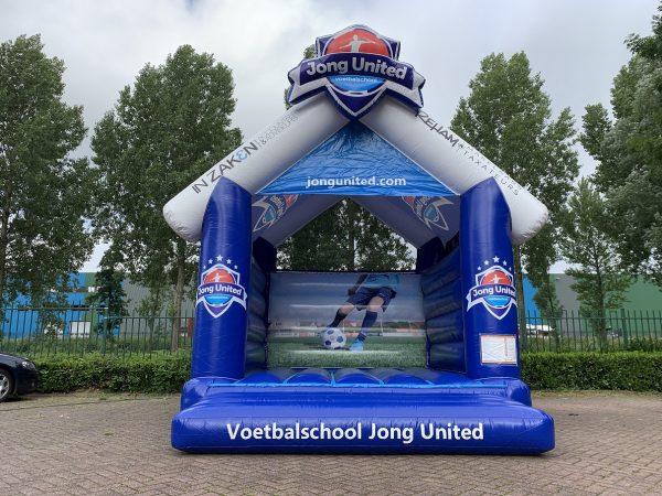 Springkussen Voetbalschool Jong United op maat